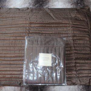 Restoration Hardware silk pillow shams (2)